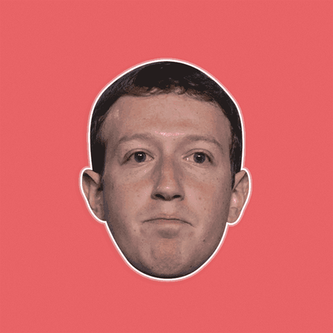 Bored Mark Zuckerberg Mask by RapMasks