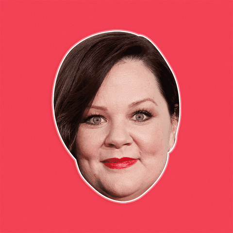 Serious Melissa McCarthy Mask - Perfect for Halloween, Costume Party Mask, Masquerades, Parties, Festivals, Concerts - Jumbo Size Waterproof Laminated Mask