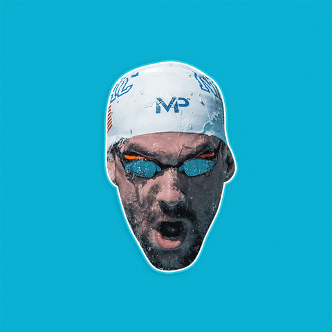 Swimming Michael Phelps Mask by RapMasks