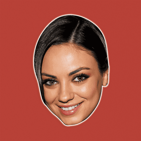 Excited Mila Kunis Mask by RapMasks