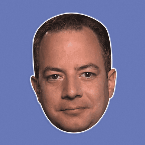 Cool Reince Priebus Mask - Perfect for Halloween, Costume Party Mask, Masquerades, Parties, Festivals, Concerts - Jumbo Size Waterproof Laminated Mask