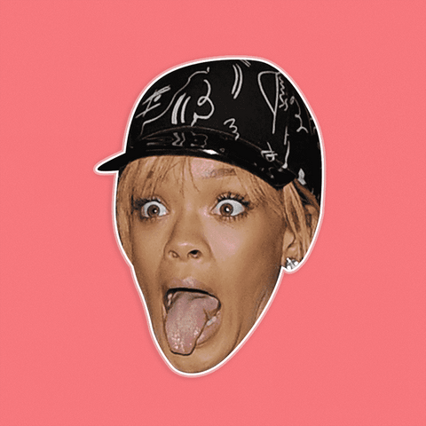 Silly Rihanna Mask by RapMasks