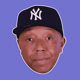 Disgusted Russell Simmons Mask - Perfect for Halloween, Costume Party Mask, Masquerades, Parties, Festivals, Concerts - Jumbo Size Waterproof Laminated Mask