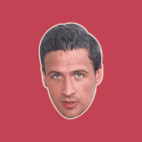Sexy Ryan Lochte Mask - Perfect for Halloween, Costume Party Mask, Masquerades, Parties, Festivals, Concerts - Jumbo Size Waterproof Laminated Mask