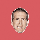 Silly Ryan Reynolds Mask - Perfect for Halloween, Costume Party Mask, Masquerades, Parties, Festivals, Concerts - Jumbo Size Waterproof Laminated Mask