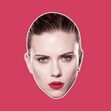 Sexy Scarlett Johansson Mask - Perfect for Halloween, Costume Party Mask, Masquerades, Parties, Festivals, Concerts - Jumbo Size Waterproof Laminated Mask
