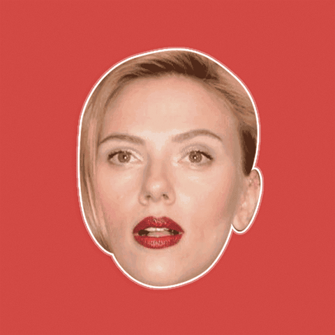 Silly Scarlett Johansson Mask - Perfect for Halloween, Costume Party Mask, Masquerades, Parties, Festivals, Concerts - Jumbo Size Waterproof Laminated Mask