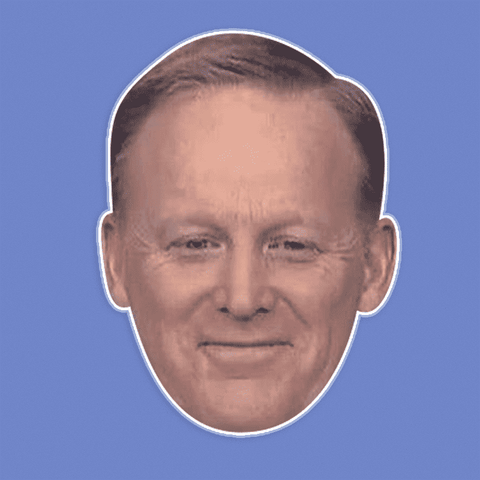 Silly Sean Spicer Mask - Perfect for Halloween, Costume Party Mask, Masquerades, Parties, Festivals, Concerts - Jumbo Size Waterproof Laminated Mask