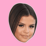 Cool Selena Gomez Mask - Perfect for Halloween, Costume Party Mask, Masquerades, Parties, Festivals, Concerts - Jumbo Size Waterproof Laminated Mask