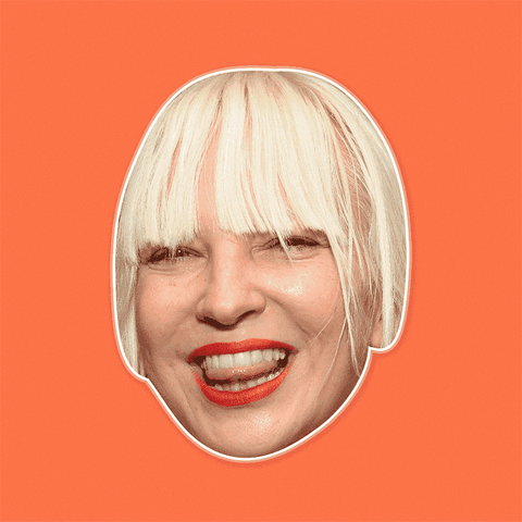 Silly Sia Mask by RapMasks