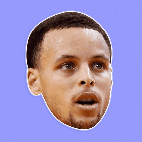 Cool Stephen Curry Mask - Perfect for Halloween, Costume Party Mask, Masquerades, Parties, Festivals, Concerts - Jumbo Size Waterproof Laminated Mask