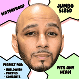 Bored Swizz Beats Mask - Perfect for Halloween, Costume Party Mask, Masquerades, Parties, Festivals, Concerts - Jumbo Size Waterproof Laminated Mask
