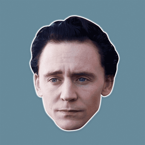 Sad Tom Hiddleston Mask - Perfect for Halloween, Costume Party Mask, Masquerades, Parties, Festivals, Concerts - Jumbo Size Waterproof Laminated Mask