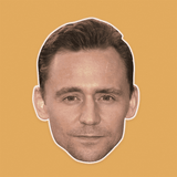 Serious Tom Hiddleston Mask - Perfect for Halloween, Costume Party Mask, Masquerades, Parties, Festivals, Concerts - Jumbo Size Waterproof Laminated Mask