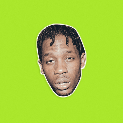 High Travis Scott Mask - Perfect for Halloween, Costume Party Mask, Masquerades, Parties, Festivals, Concerts - Jumbo Size Waterproof Laminated Mask