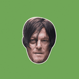 Beaten Walking Dead Daryl Mask - Perfect for Halloween, Costume Party Mask, Masquerades, Parties, Festivals, Concerts - Jumbo Size Waterproof Laminated Mask