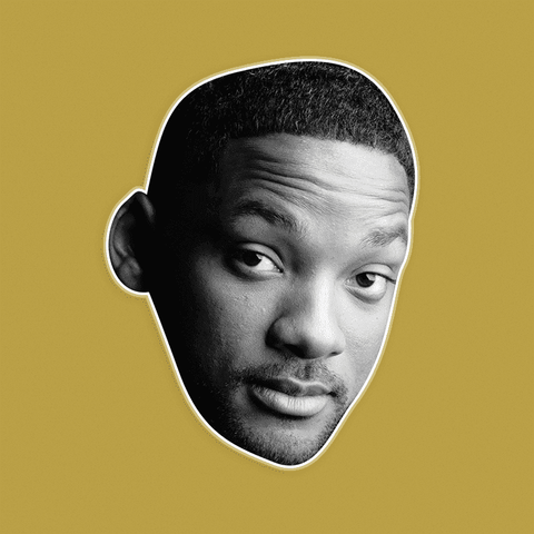 Bored Will Smith Mask by RapMasks