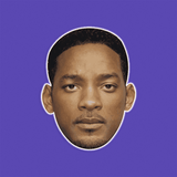 Sexy Will Smith Mask - Perfect for Halloween, Costume Party Mask, Masquerades, Parties, Festivals, Concerts - Jumbo Size Waterproof Laminated Mask