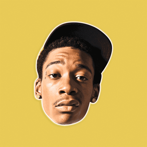 Cool Wiz Khalifa Mask - Perfect for Halloween, Costume Party Mask, Masquerades, Parties, Festivals, Concerts - Jumbo Size Waterproof Laminated Mask
