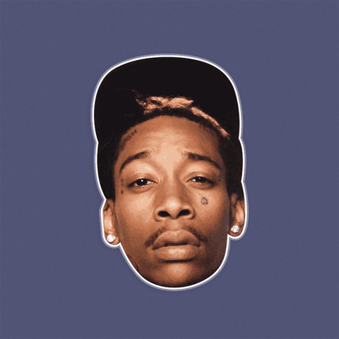 Sexy Wiz Khalifa Mask - Perfect for Halloween, Costume Party Mask, Masquerades, Parties, Festivals, Concerts - Jumbo Size Waterproof Laminated Mask