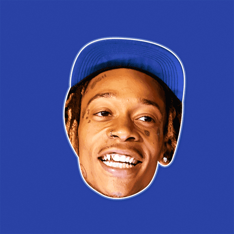 05c3dd56def5 Surprised Wiz Khalifa Mask - Perfect for Halloween, Costume Party Mask,  Masquerades, Parties