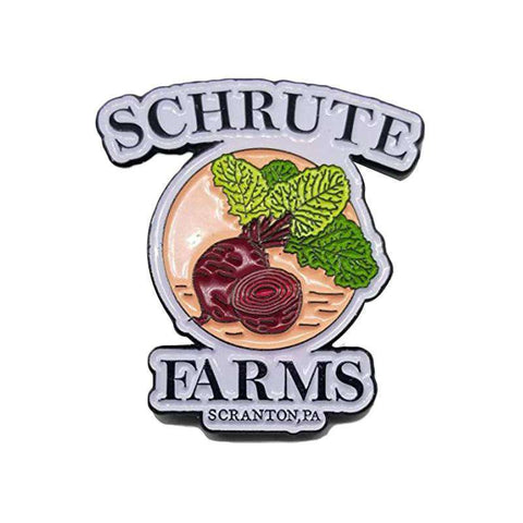 Free Dwight Schrute Farms Beets The Office Enamel Pin Just Pay Shipping