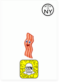 Scratch and Sniff Bacon Card (Smells Like Bacon)