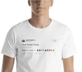 Kanye West Loves Donald Trump Tweet T-Shirt FREE SHIPPING