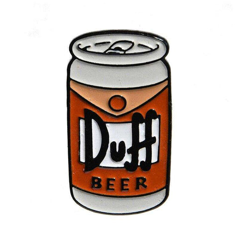 Free Duff Beer The Simpsons Enamel Pin Just Pay Shipping