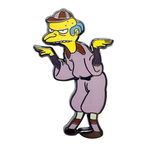 Free Mr Burns Baseball The Simpsons Enamel Pin Just Pay Shipping
