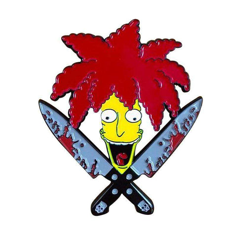 Free Sideshow Bob The Simpsons Enamel Pin Just Pay Shipping