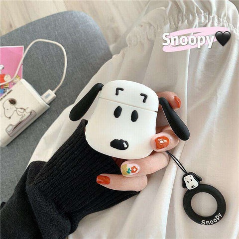 Snoopy Peanuts Charlie Brown Apple Airpods Case FREE SHIPPING