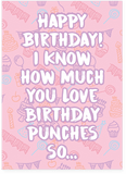 Britney Spears Hit Me Baby One More Time Happy Birthday Card (PLAYS SONG)