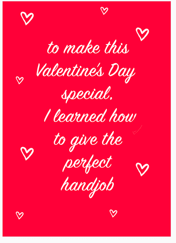 Circle Game Meme Hand Gotcha Surprise Handjob Valentines Day Card (PLAYS SOUND)