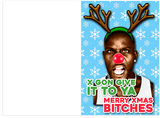 DMX Wishes You A Merry Xmas Holiday Christmas Card (PLAYS SOUND)