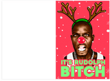 DMX Rudolph The Red Nosed Reindeer Holiday Christmas Card (PLAYS SONG)
