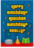 Grand Theft Auto GTA Ah Shit Here We Go Again Happy Birthday Card (PLAYS SOUND)