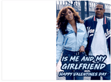 Jay-Z 03 Bonnie And Clyde Girlfriend Valentines Day Card (Plays Song)