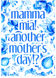ABBA Mamma Mia Mother's Day Card (Plays Song)