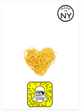 Somebody Toucha My Spaghet Anniversary Love & Valentines Day Card (PLAYS MEME SOUND)