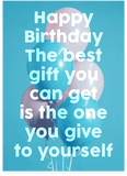 Go Suck Yourself Meme Happy Birthday Card (PLAYS SOUND)
