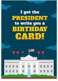 Donald Trump Fake News Loser Happy Birthday Card (PLAYS SOUND)
