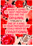 Tupac 2PAC Unconditional Love Mothers Day Card (Plays Actual Song)