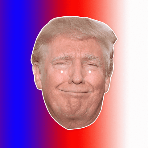 Donald Trump Mask - Perfect for Halloween, Costume Party Mask, Masquerades, Parties, Festivals, Concerts - Jumbo Size Waterproof Laminated Mask