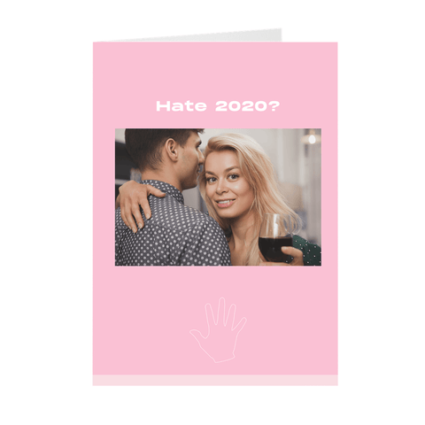Weird Funny Handsy I'm Here For You Greeting Card
