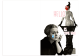 Adele's Hello Booty Thinking of You Card (PLAYS ACTUAL SONG)