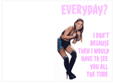 Ariana Grande & Future Everyday Birthday Card (PLAYS ACTUAL SONG)