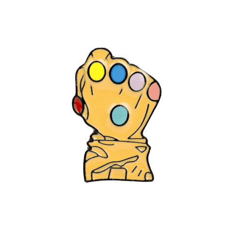 Free Thanos Infinity Gauntlet Marvel MCU Superhero Avengers Comic Book Enamel Pin Just Pay Shipping