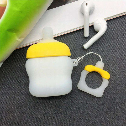 Kawaii Baby Bottle Apple Airpods Case FREE SHIPPING