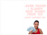 Beyonce Lemonade Daddy Lessons Father's Day Card (PLAYS ACTUAL SONG)